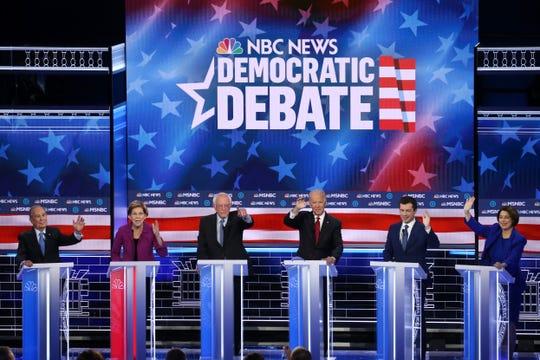 Los precandidatos demócratas a la presidencia de EEUU se dieron con todo en Las Vegas.