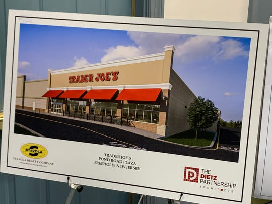 Trader Joe's will open a store at Pond Road Plaza on Route 9 in Freehold Township.