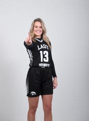Lani Woods is a senior on the North Buncombe girls basketball team.