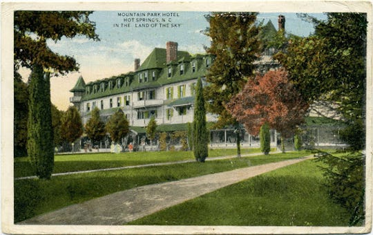 Hot Springs African American community was likely largest during the time of the Mountain Park Hotel in Hot Springs, which burned in 1920.