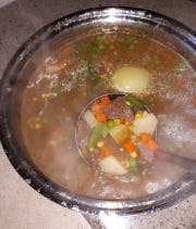Lovina shares her recipe for Campfire Stew this week, equally good prepared indoors on the stove during the cold winter months.