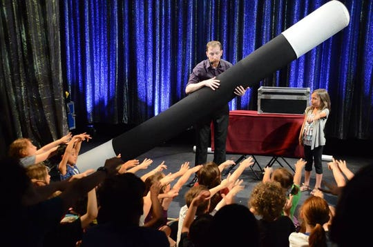 """""""It's Magic with John Reid"""" will return to theSchorr Family Firehouse Stage for three separate events on Saturday."""