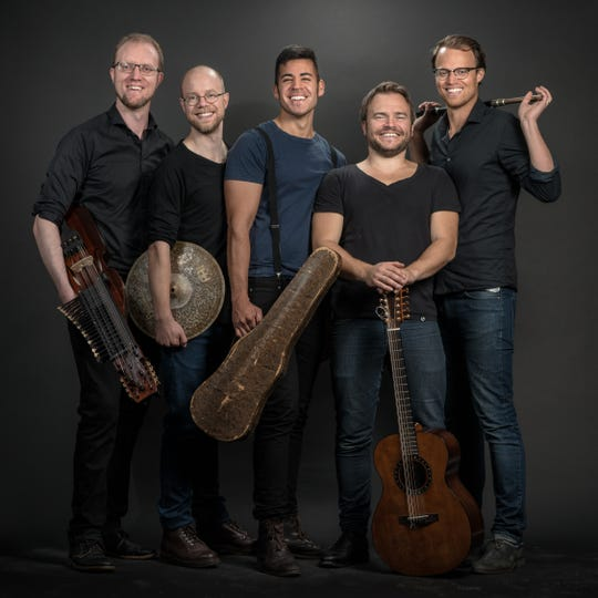 The Chenango Sessions and WBDY 99.5 FM will presenta concert and live recording session featuring theSwedish quintetJaerv Tuesday evening at the Bundy Museum of History and Art inBinghamton.