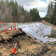 A culvert over Coulter Creek on Lake Flora Road in South Kitsap washed out in January after rainstorms that wouldn't let up. One lane has been open to alternating traffic since the washout.