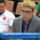 Viera High junior Jacob Gelman addresses the Brevard County Commission.