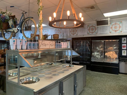 The interior of Bleu Bear Market in Marlton, which will soon be filled with gluten-free food.