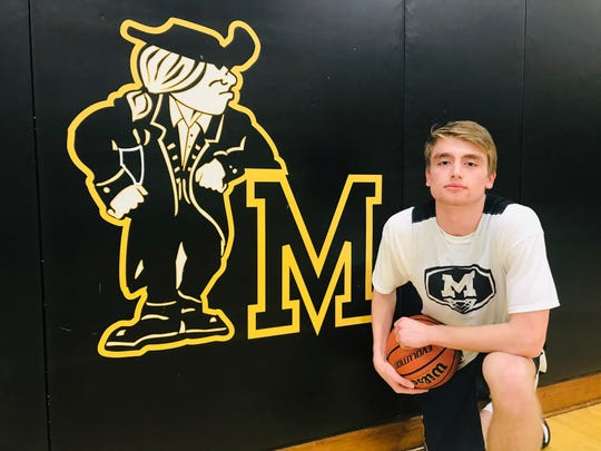 Moorestown senior Kevin Muhic is the leader of a defense that has guided the Quakers to the top seed in the South Jersey Group 3 playoffs.