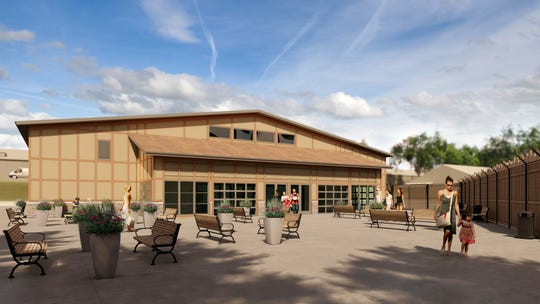 A $2 million ZooPlex will be available for weddings, conferences and traveling conservation exhibits.