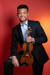 Randall Goosby is making his Detroit recital debut this weekend.