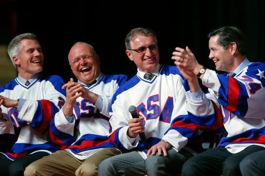 Buzz Schneider (second from right)