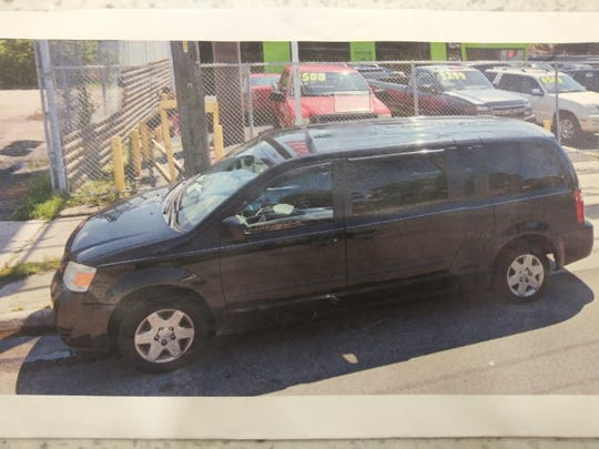Authorities said Brown was last seen in a black 2002-2012 Dodge Caravan that has a Texas license plate.
