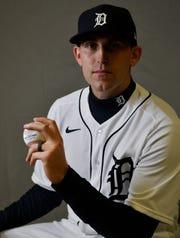 Tigers pitcher Matthew Boyd.