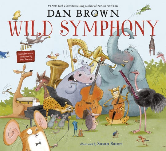 """""""Wild Symphony"""" will be illustrated by Susan Batori and will be accompanied by a release of children's classical music, written by Brown."""