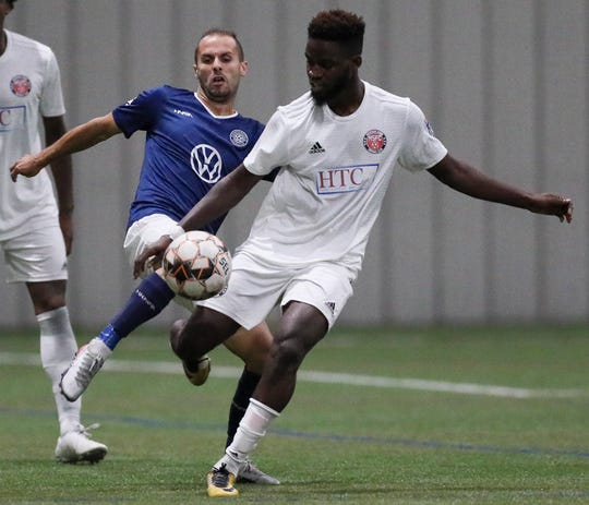 Liberian defender Joseph Aidoo, who made five appearances with the Michigan Stars in NPSL Members Cup play, returns.