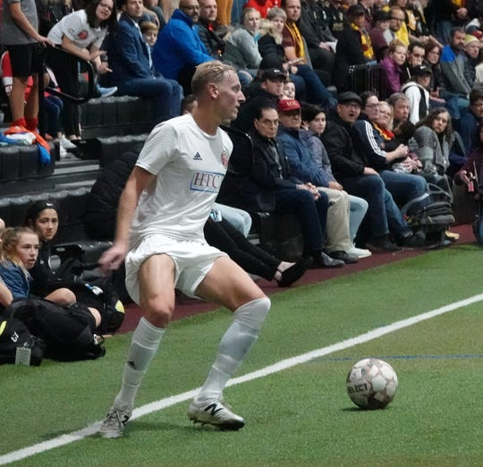 Defender Kyle Nuel played with the Philadelphia Fury in the American Soccer League and National Independent Soccer Association before the team went on hiatus last fall.