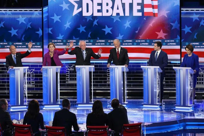 Five of the remaining seven candidates on the ballot for the South Carolina Democratic Primary competed in last week's debate in Nevada.