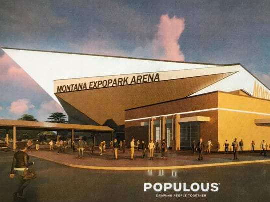 A new multi-event center at Montana ExpoPark would cost $83.3 million and provide flexible seating options for hockey, basketball, rodeo and concerts.