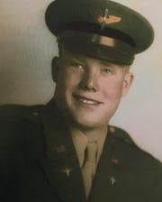 James Geiger of Conrad in uniform TRIBUNE PHOTO/KRISTEN INBODY