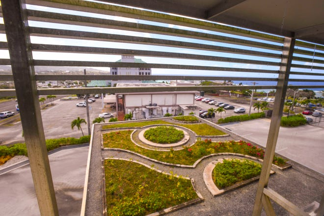 Coast360 Federal Credit Union's headquarters in Maite, which features a rooftop garden, was the first U.S. Green Building Council's Leadership in Energy and Environmental Design-certified building on Guam.