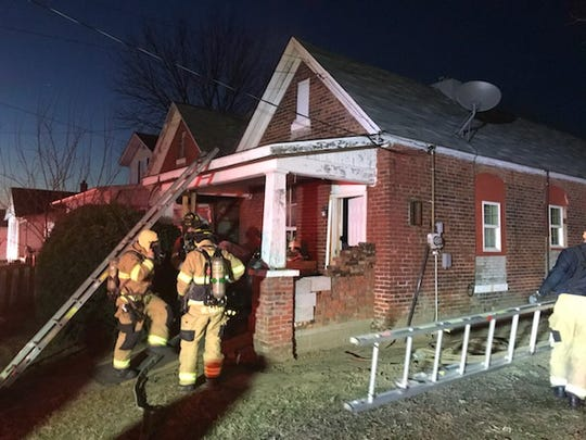 A house caught fire in the 1500 block of Cumnock Street early Friday morning (Feb. 21, 2020).