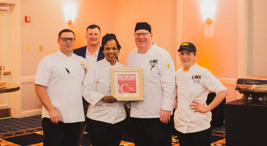 University of Iowa Housing and Dining won both the people's and judges' choice for first place in 2019's Top Chef event in Iowa City.