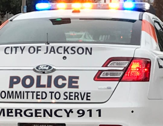 A Jackson police car is shown in this file photo.