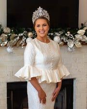 Queen Evangeline- Grace Zehnder.  Friday, Feb. 21, 2020.