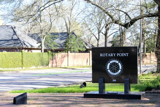 The Rotary Club of Lafayette donated funds to build the scenic overlook at Rotary Point in the 1980s.