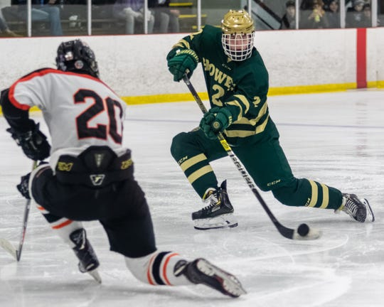 Dominic Rossi and his Howell hockey teammates will try to win a regional that also includes Brighton.