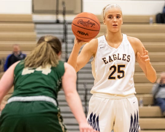 Whitney Sollom has led Hartland to a 16-1 record and No. 2 state ranking this season.