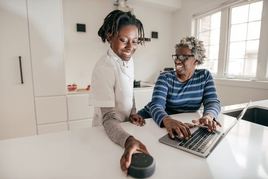Smart devices may help older seniors age in place easier.