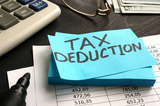 """Property taxes, sometimes called """"real estate taxes,"""" are deductible"""