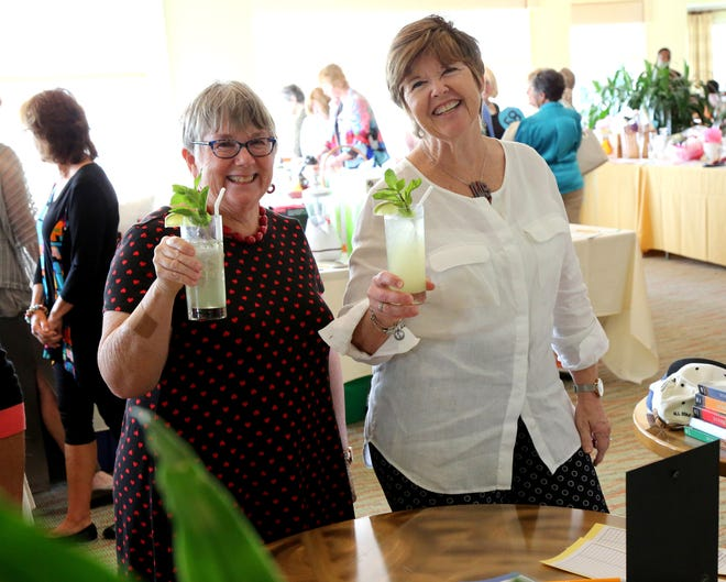 Recently the AAUW Marco Island branch held their one and only annual fundraiser, the Time, Talent, & Treasures Luncheon and Auction at the Island Country Club.