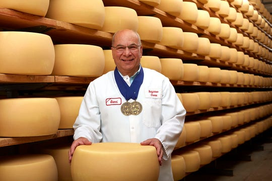 Gianni Toffolon, master cheesemaker, came to the U.S. from Italy in 1979. He had never heard of Wisconsin.