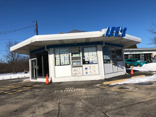 The octagon-shaped building that is Lee's Dairy Treat used to be a Boy Blue ice cream franchise.