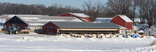 Critics of the Green New Deal say it could cost Wisconsin dairy farms, such as the Jen and Shane Sauer farm near Waterloo, more than $2 billion in losses.