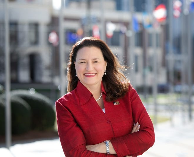 Terri Hasdorff is seeking the Republican nomination for the 2nd congressional district