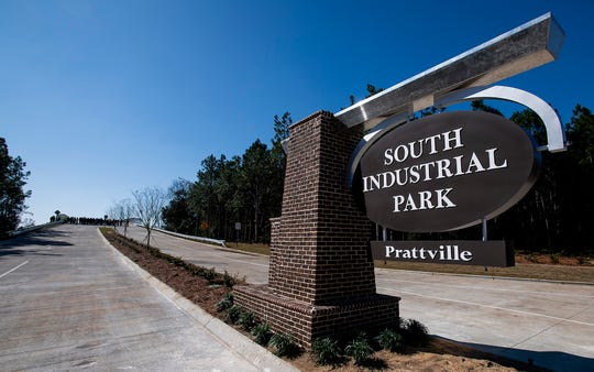 A ribbon cutting ceremony was held for the Industrial Park bridge in Prattville, Ala., on Friday February 21, 2020.