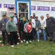 The Greater Muncie, IN Habitat for Humanity was awarded $50,000 for the 2020 Housing Program. A similar grant in 2019 supported Habitat for Humanity as it served 28 families. Volunteers give their time to help construct homes like this one on Kirk Street.