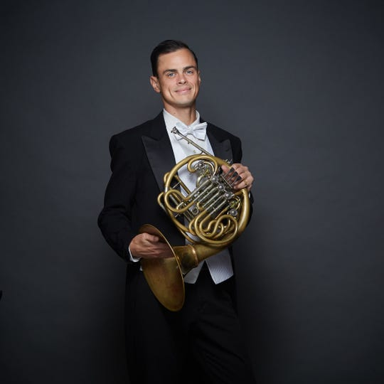 Oliver de Clercq, principal French horn, Vancouver Symphony