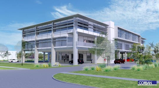 The Lutgert Companies is constructing an office building where the Witch's Brew had been located at 4850 U.S. 41, Naples.