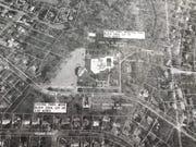 Land diversion areas near wells surrounding Ramsey's pool on East Oak Street.