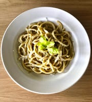 Robert Pantusa's pastas were popular at Osteria Giotto; he's brought them back to his new place, La Rocca, in Montclair.