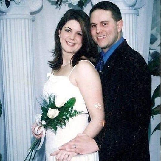 Jamie Pollen and Bill James married Feb. 20, 2004 in Las Vegas. Bill James, a Milford High School teacher, died suddenly on Feb. 18, 2020.