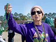 The Opelousas Mardi Gras season continued Friday with the rolling of the Park Vista Elementary Mardi Gras Parade through the Park Vista Subdivision.