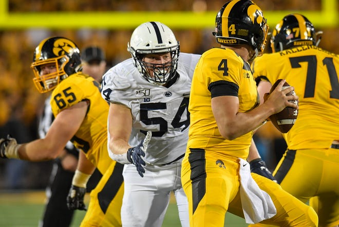 Penn State's Robert Windsor, a Fond du Lac grad, was the 193rdoverall pick in the NFL draft and finished with 40 tackles and 3.5 sacks in 2019.