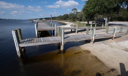 Escambia County is working to redevelop the area near the Galvez Landing Public Boat Ramp. Innerarity Point Park next door opens in early March while the boat ramp's improvements are going through the design and approval phases.