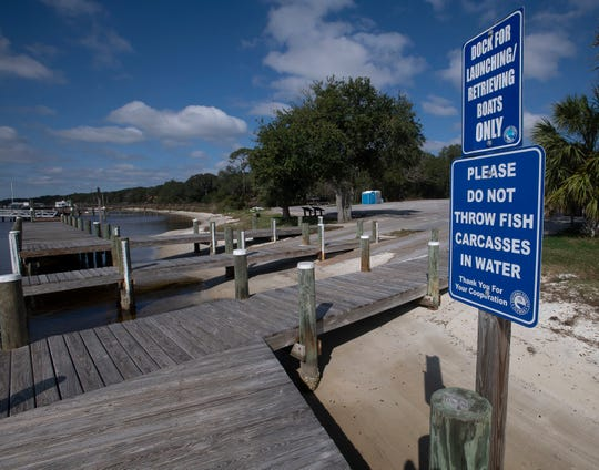 Escambia County is working to redevelop the area near the Galvez Landing boat ramp, next door to Innerarity Point Park.