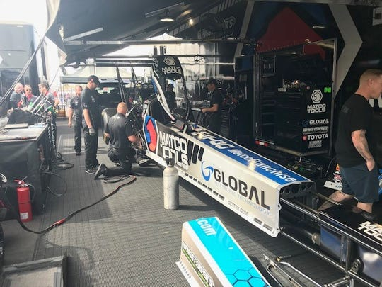 Antron Brown's Top Fuel dragster