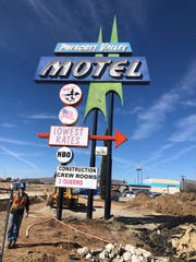 Bids for the Prescott Valley Motel have gone above $1,000 as of Feb. 21.